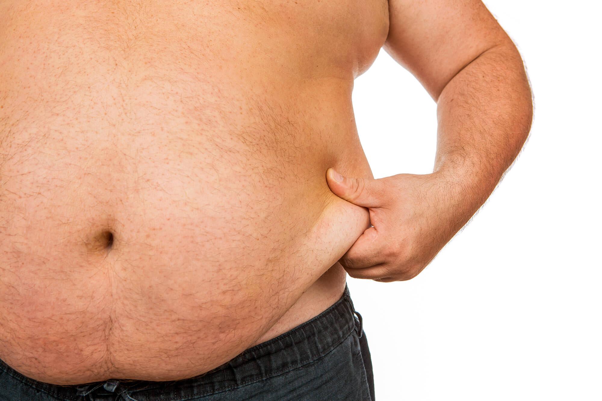 Cuanto más obeso, menos testosterona